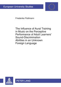 The Influence of Aural Training in Music on the Perceptive Perfo