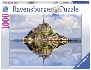 Ravensburger 19647 Le Mont-Saint-Michel, Puzzle, 1000 Teile
