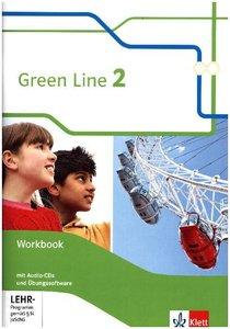Green Line. Workbook mit 3 Audio-CDs und Übungssoftware 6. Klass