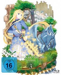 Sword Art Online - Alicization. Staffel.3.3, 1 Blu-ray