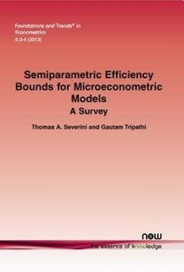 Semiparametric Efficiency Bounds for Microeconometric Models