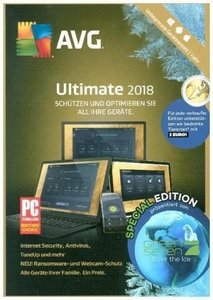 AVG Ultimate 2018, 1 DVD (Special Edition)