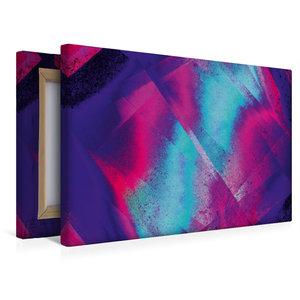 Premium Textil-Leinwand 45 cm x 30 cm quer Verwoben