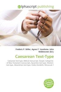 Caesarean Text-Type