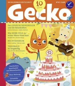 Gecko Kinderzeitschrift Band 61