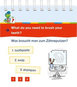 Ting: Vokabelquiz Englisch. At home