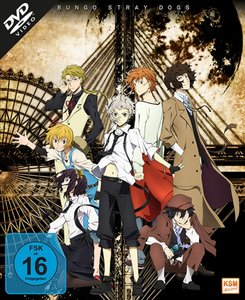Bungo Stray Dogs - Gesamtedition. Staffel.1, 3 DVD