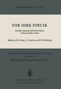 For Dirk Struik