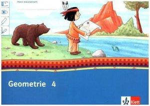 Mein Indianerheft. Geometrie. Arbeitsheft Klasse 4 (5-er Paket)