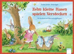 Zehn kleine Hasen spielen Verstecken