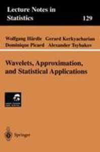Wavelets, Approximation, and Statistical Applications