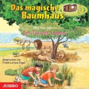 Das magische Baumhaus 11. Im Tal der Löwen. CD