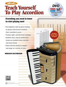 Alfred\'s Teach Yourself to Play Accordion