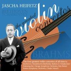 Jascha Heifetz: The Greatest Violin Concertos