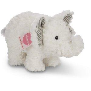 Teddy Hermann 93885 - Elefant Cooper, 23 cm, Plüschtier, grau
