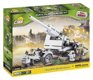 Cobi 2338 - Flak Gun 36/37, Small Army, grau