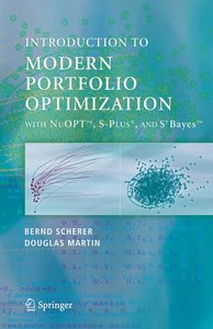 Modern Portfolio Optimization with NuOPT(TM), S-PLUS®, and S+Bay