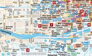 Toronto 1 : 17 500. City Centre Map