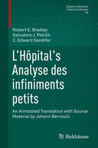 L'Hôpital's Analyse des infiniments petits