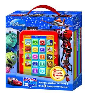 Mein Lese-Pad Disney Movies: Elektronisches Lesebad und 8 Hardco