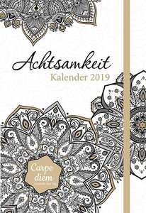 Achtsamkeit 2019 Taschenkalender