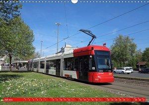 Mit der Straßenbahn quer durch Europa (Wandkalender 2019 DIN A3