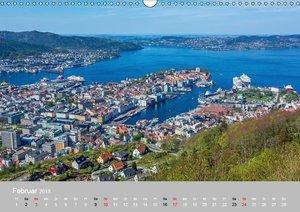 Skandinavien - Fjorde, Schären und Meer... (Wandkalender 2019 DI