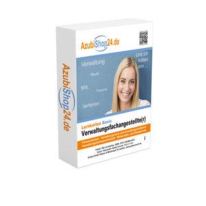 AzubiShop24.de Basis-Lernkarten Verwaltungsfachangestellte(r)