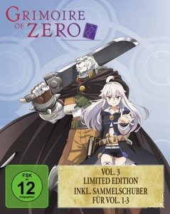 Grimoire of Zero Vol. 3 BD + Sammelschuber (Limited Edition)
