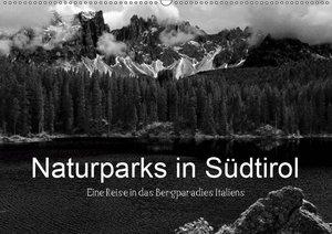 Naturparks in Südtirol (Wandkalender 2019 DIN A2 quer)
