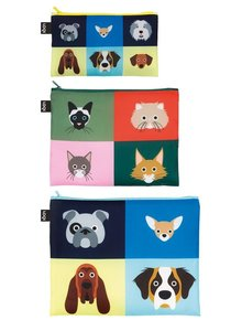 Zip Pocket STEPHEN CHEETHAM Dogs & Cats