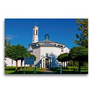 Premium Textil-Leinwand 75 cm x 50 cm quer Sankt Peter Kirche