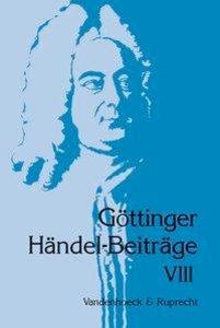 Göttinger Händel-Beiträge, Band 8