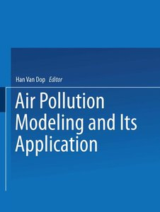 Air Pollution Modeling and Its Application VII