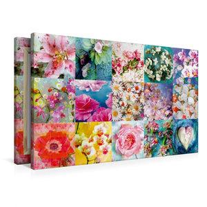Premium Textil-Leinwand 90 cm x 60 cm quer Ein Bild aus dem Kale