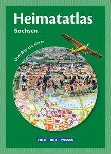 Heimatatlas für die Grundschule: Atlas Sachsen