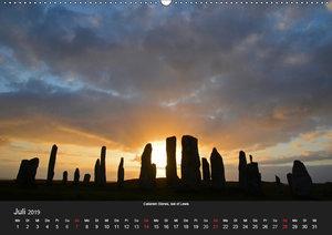 Schottland (Wandkalender 2019 DIN A2 quer)