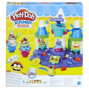 Hasbro B5523EU6 - Play-Doh, Eiscreme Schloss, Knete