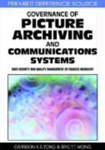 Governance of Picture Archiving and Communications Systems: Data