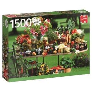 Obst und Gemüse - 1500 Teile Puzzle