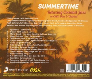 Summertime-Relaxing Cocktail Jazz to Chill,Dine