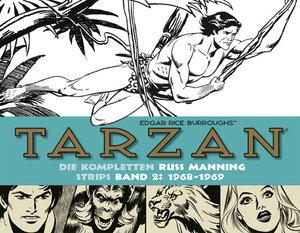Tarzan: Die kompletten Russ Manning Strips / Band 2 1968 - 1969