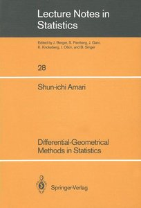 Differential-Geometrical Methods in Statistics