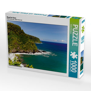 Road to Hana 1000 Teile Puzzle quer