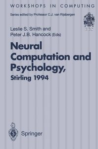Neural Computation and Psychology