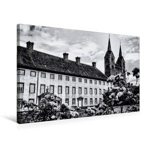 Premium Textil-Leinwand 75 cm x 50 cm quer Schloss und Kloster
