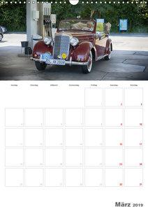 Mercedes Benz 170 SCB (Wandkalender 2019 DIN A3 hoch)