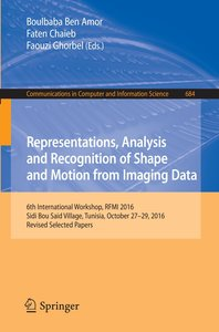 Representations, Analysis and Recognition of Shape and Motion fr