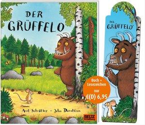Der Grüffelo - Buch mit Magnetlesezeichen
