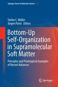 Bottom-Up Self-Organization in Supramolecular Soft Matter